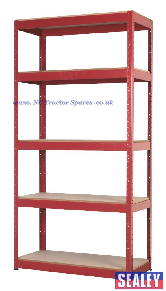 Racking Unit with 5 Shelves 350kg Capacity Per Level